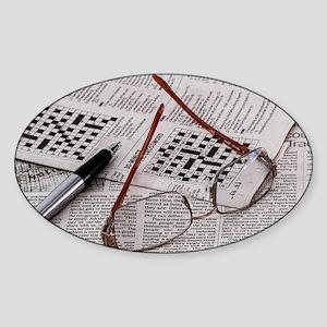 Crossword Genius Sticker