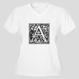 Renaissnce Design Cloister Alpha Plus Size T-Shirt