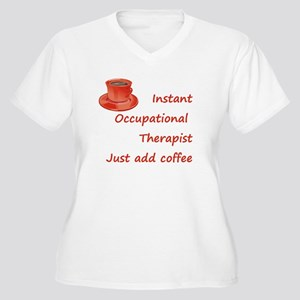 Instant Occupational Therapis Women's Plus Size V-
