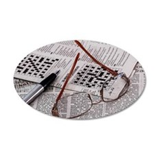 Crossword Genius Wall Decal