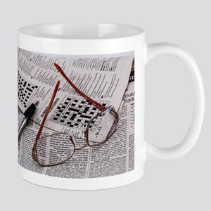 Crossword Genius Mugs