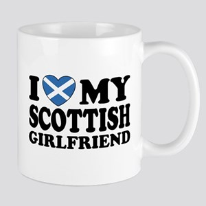 I Love My Scottish Girlfriend Mug