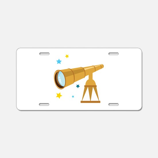 Telescope Aluminum License Plate
