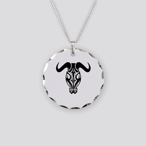 TRIBAL COW SKULL Necklace