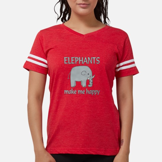 Elephant Happy T-Shirt