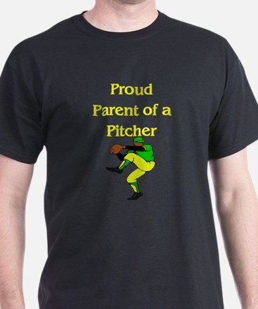 Proud Parent of a Pitcher T-Shirt