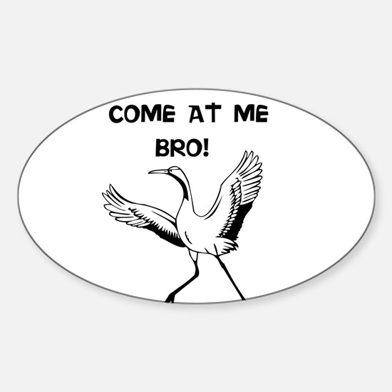 COME AT ME BRO! Decal