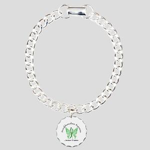 Neurofibromatosis Butter Charm Bracelet, One Charm