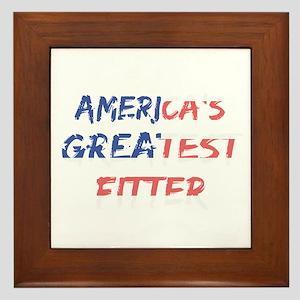 America's Greatest Fitter Framed Tile