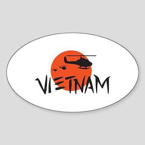 VIETNAM HELICOPTERS Sticker