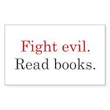 Fight evil read books Single
