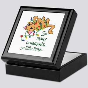 SO MANT ORNAMENTS Keepsake Box