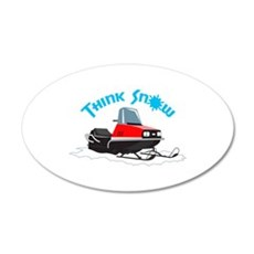 THINK SNOW Wall Decal
