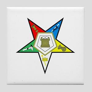 Oreder of the Easter Star Tile Coaster