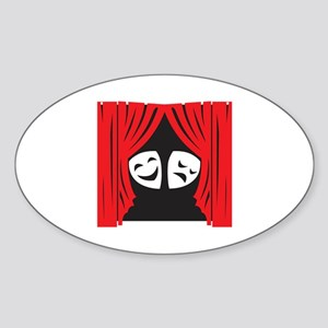 LIVE THEATRE Sticker
