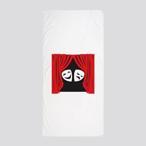 LIVE THEATRE Beach Towel