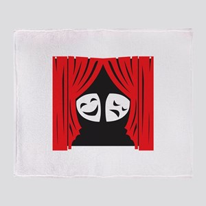 LIVE THEATRE Throw Blanket