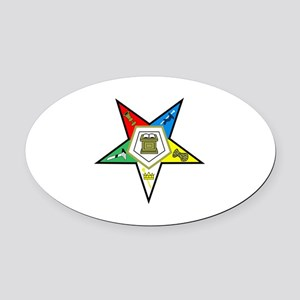 ORDER OF THE EASTERN STAR Oval Car Magnet