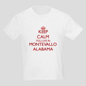 Keep calm you live in Montevallo Alabama T-Shirt