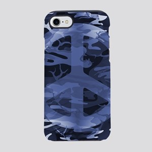 Camouflage Peace Sign iPhone 7 Tough Case