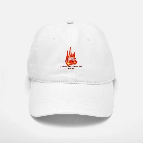 Year Of The Fire Pig (2007) Baseball Baseball Cap