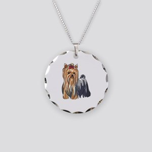 YORKSHIRE TERRIERS Necklace