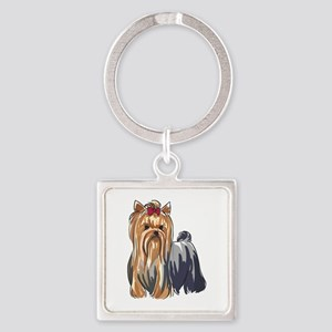 YORKSHIRE TERRIERS Keychains