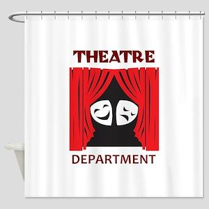 THEATRE DEPARTMENT Shower Curtain