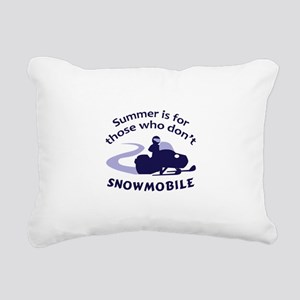 SUMMER IS FOR THOSE Rectangular Canvas Pillow