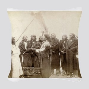 Lakota Chiefs - John Grabill - 1880 Woven Throw Pi
