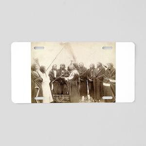 Lakota Chiefs - John Grabill - 1880 Aluminum Licen