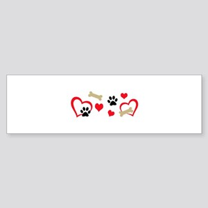 DOG THEME HORIZONTAL Bumper Sticker