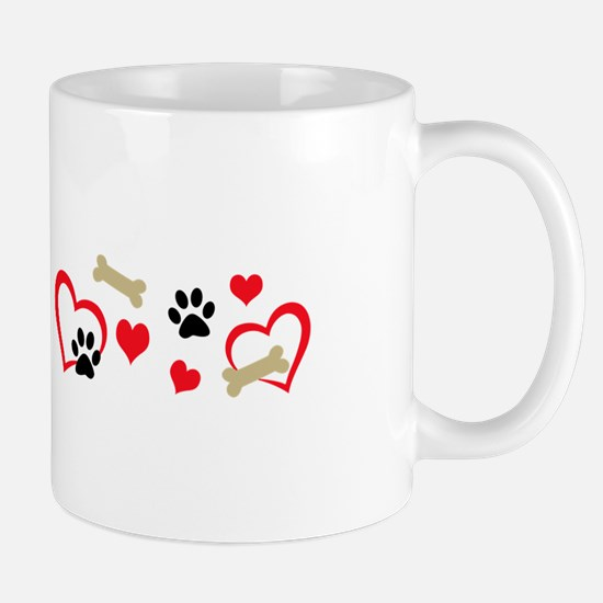 DOG THEME HORIZONTAL Mugs