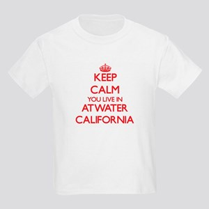 Keep calm you live in Atwater California T-Shirt