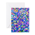 Abstact (AL)-1 Greeting Cards (Pk of 10)
