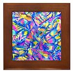 Abstact (AL)-1 Framed Tile