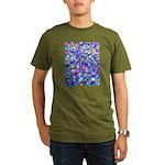 Abstact (AL)-1 Organic Men's T-Shirt (dark)