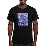 Abstact (AL)-1 Men's Fitted T-Shirt (dark)