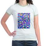 Abstact (AL)-1 Jr. Ringer T-Shirt