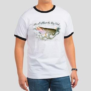 Tiger muskie, Saltypro Series T-Shirt