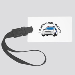 SERVE AND PROTECT Luggage Tag