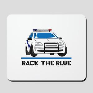 BACK THE BLUE Mousepad