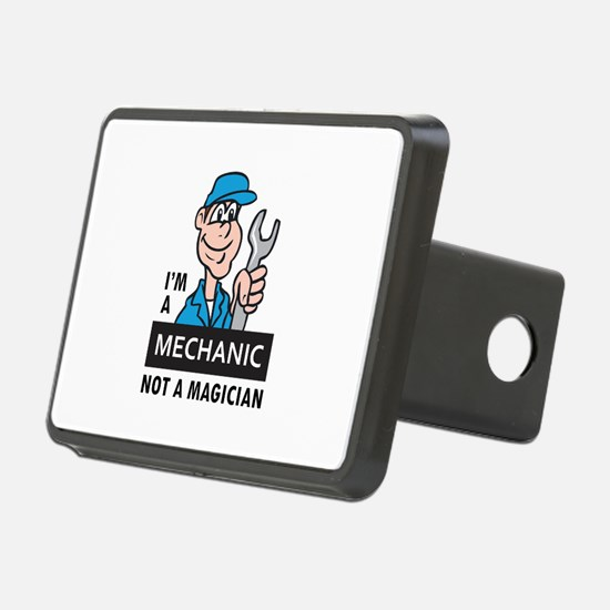 MECHANIC NOT A MAGICIAN Hitch Cover
