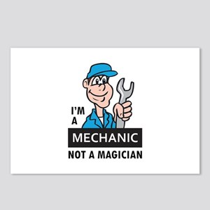 MECHANIC NOT A MAGICIAN Postcards (Package of 8)