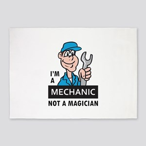 MECHANIC NOT A MAGICIAN 5'x7'Area Rug