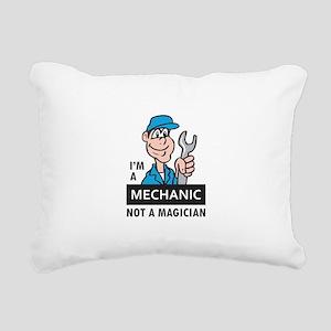 MECHANIC NOT A MAGICIAN Rectangular Canvas Pillow