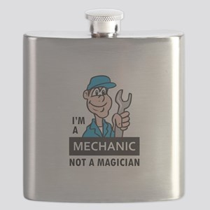 MECHANIC NOT A MAGICIAN Flask