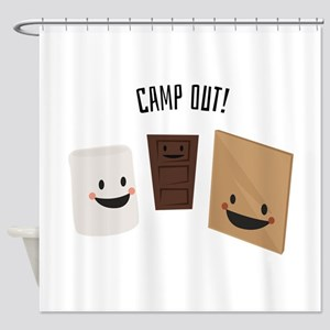Camp Out! Shower Curtain