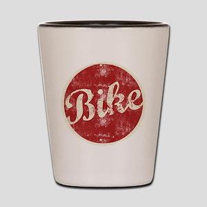 bike1dark Shot Glass