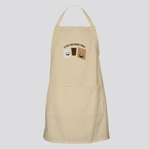 It's Not A Party Without S'more! Apron